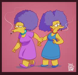Patty and Selma 2k18