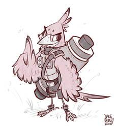 Animals of Konoha-Robin