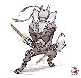 Animals of Konoha-Grey Wolf