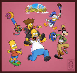 Simpsons Hearts by Morpheus306