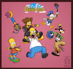 Simpsons Hearts