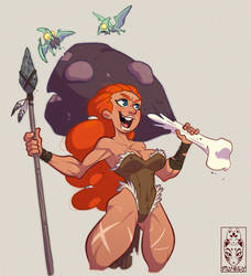 Barbarian Girl by Morpheus306