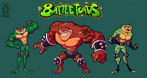 Battletoads-morph style