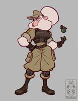 Sheepish Soldier
