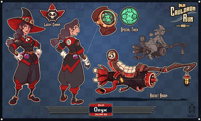 Radical Racer submission- Onyx the Rocket Witch