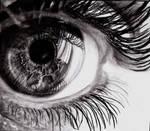 detail eyes drawing