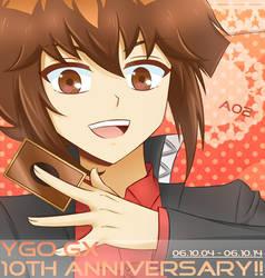 YGO GX 10th Anniversary ! by Tenkana