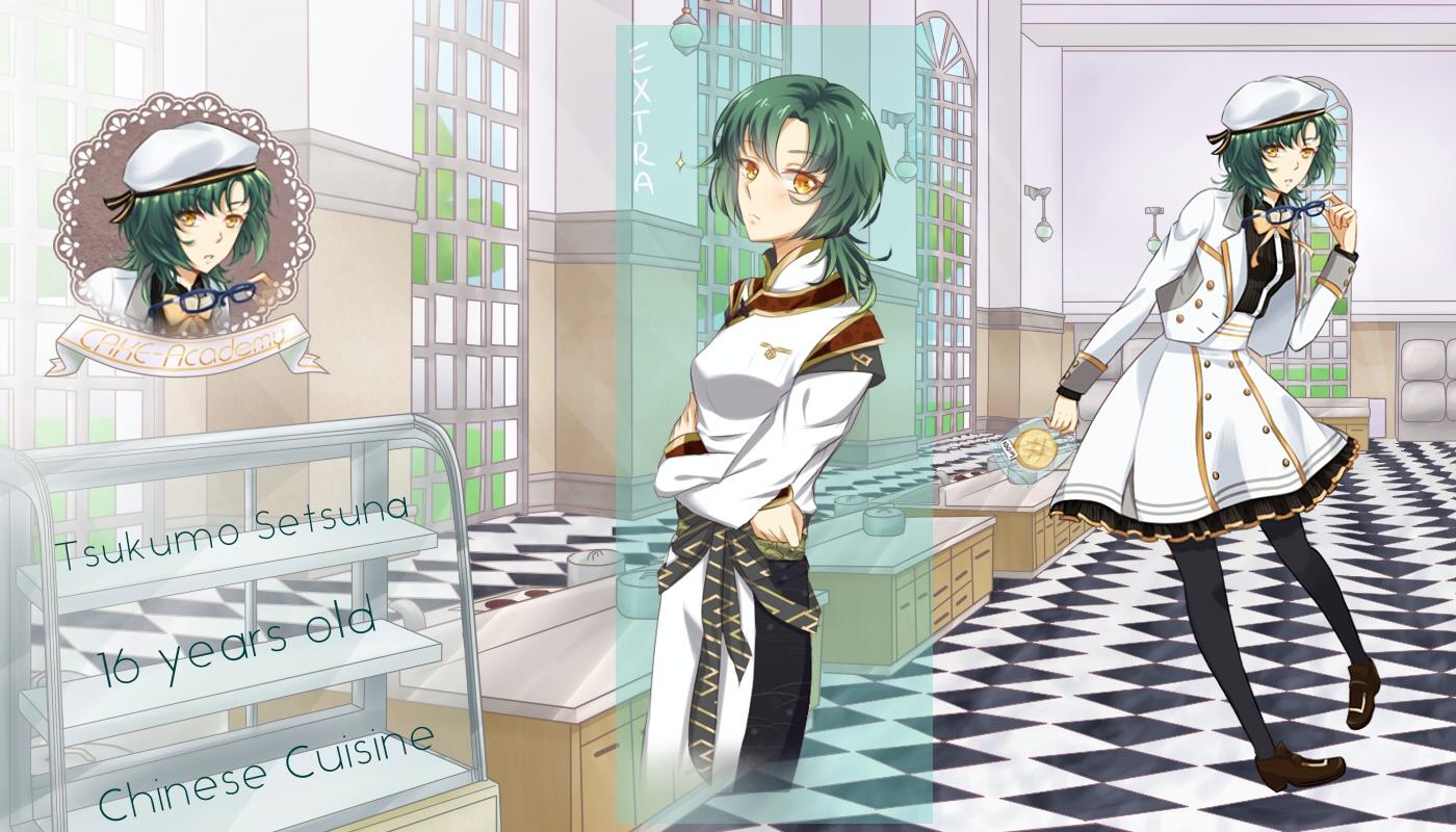 Cake Art Academy : .:CAKE-Academy:. Tsukumo Setsuna by Tenkana on DeviantArt