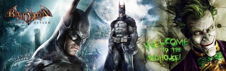 Batman Arkham Asylum Wallpaper By Toxigyn On Deviantart