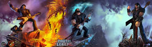 Brutal Legend dual wallpaper