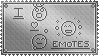 i love emotes stamp by I-is-smart