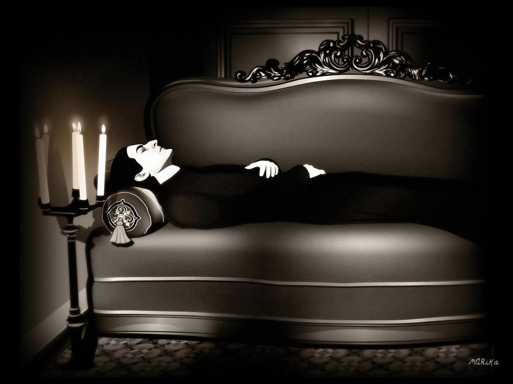 Sleeping by MARiKaArt