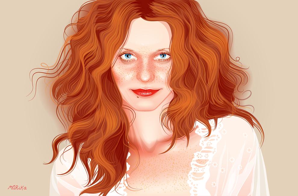 Ilona by MARiKaArt