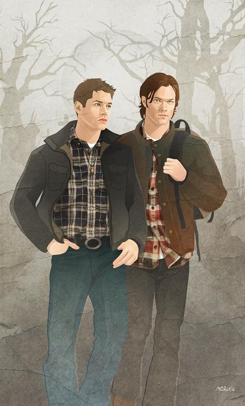 Winchester boys by MARiKaArt