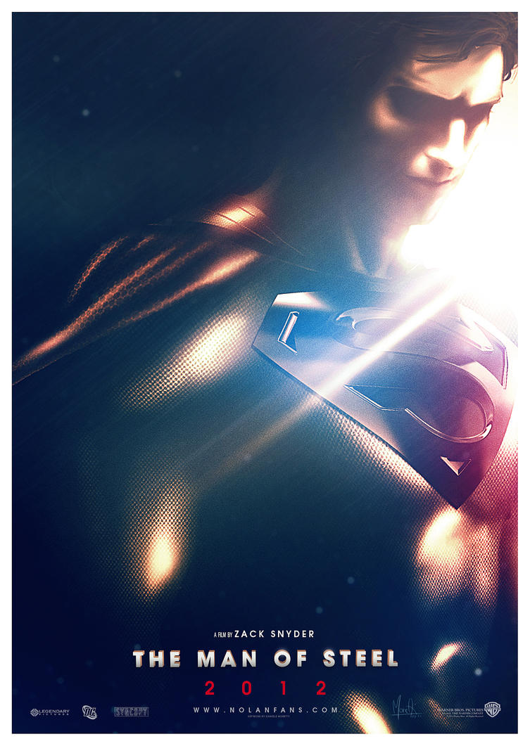 SUPERMAN : MAN of STEEL 2012 by Medusone