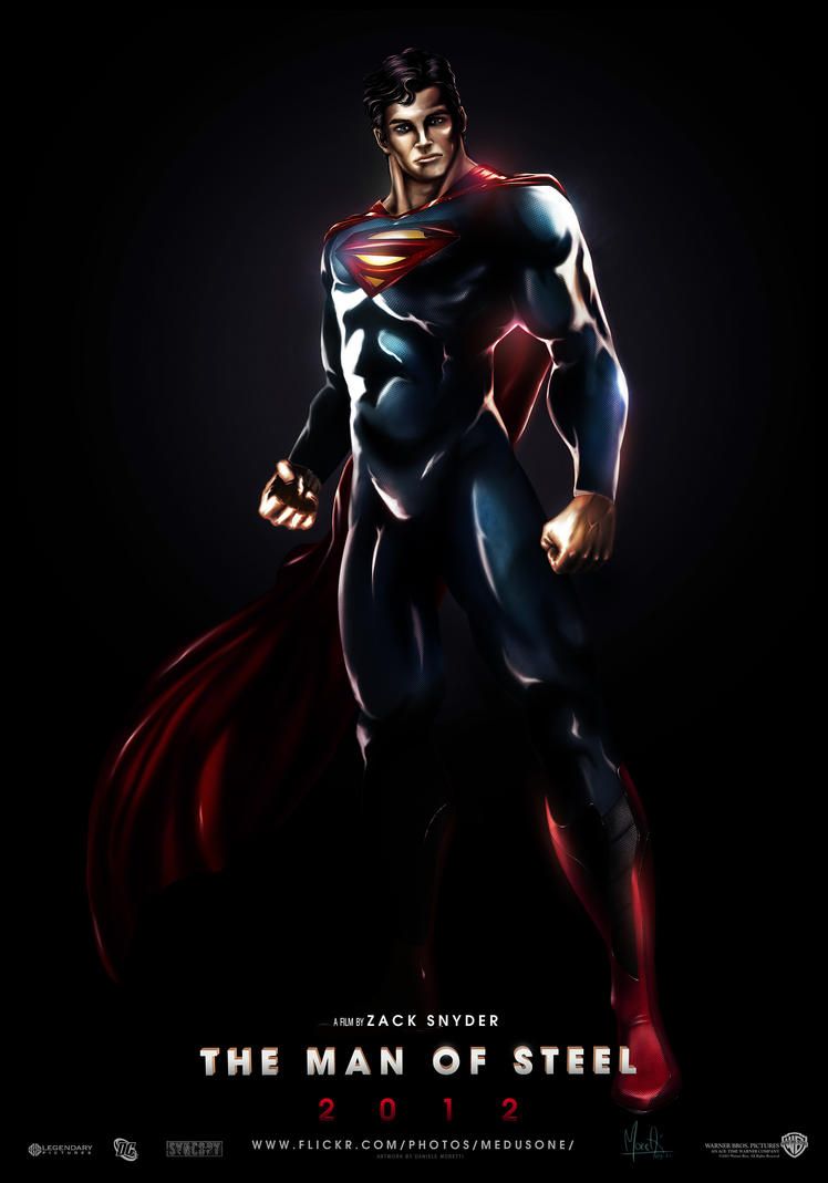 MAN OF STEEL 2012 by Medusone