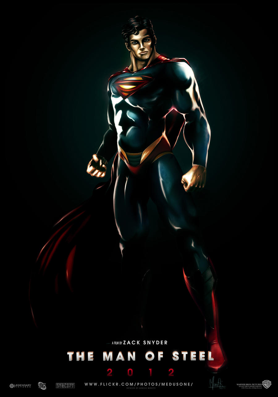 SUPERMAN 2012 : NEW SUIT v2 by Medusone