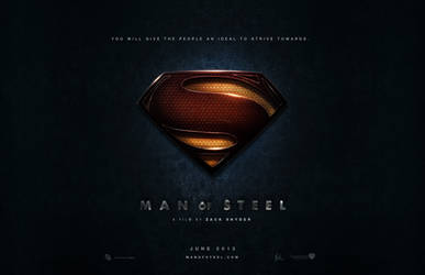 MAN of STEEL - Texture Suit Version by Medusone