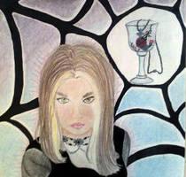 Inspired Self-portrait by kaeleers-heart