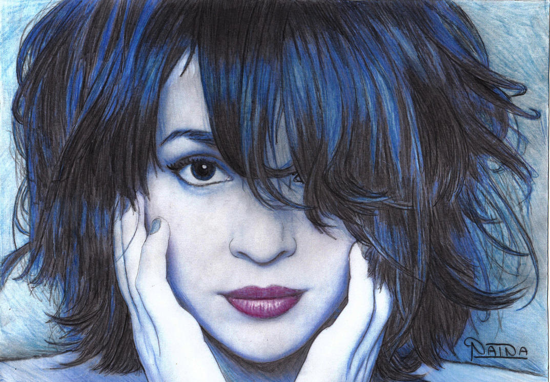 095 - Norah Jones by NainaArt on DeviantArt
