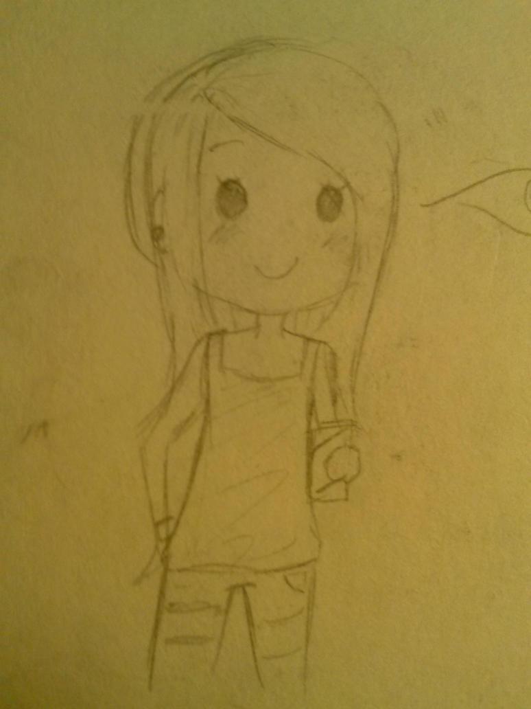 leokayla (sketch) by aliursa