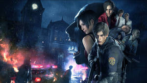 Resident Evil 2 Remake - [Official Artwork]