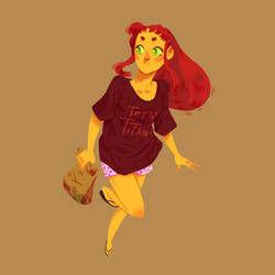 Starfire and Lunch by Shoscombe