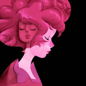 Pink Rose Diamond Quartz