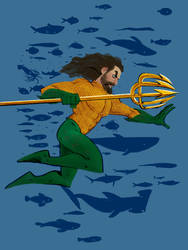 Aquaman - Arthur Curry by Shoscombe