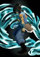 Avatar Korra by Shoscombe