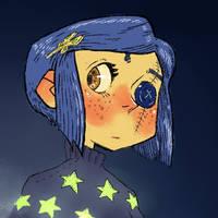 Button-eyed Coraline Jones - Coraline
