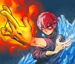 Todoroki Shoto - Boku no Hero Academia - My hero