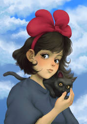 Kiki - Kiki's Delivery Service - Ghibli