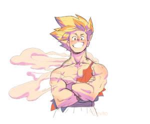 Super Sayan Goku Sketch