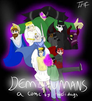 DEMIHUMANS COVER [COMIC COVER] by iHateFridays