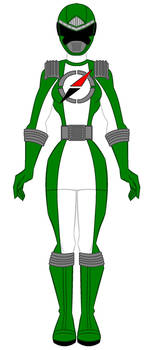 Operation Overdrive Dark Green Ranger