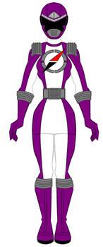 Operation Overdrive Dark Purple Ranger