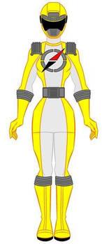 Operation Overdrive Yellow Ranger
