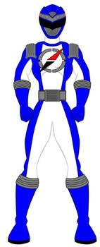 Operation Overdrive Blue Ranger