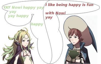 Nowi x Ricken happy