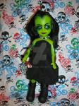 Living Dead Dolls OOAK Ticia Custom Zombie