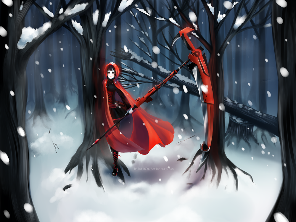 Red in The Snow by Kalafin99