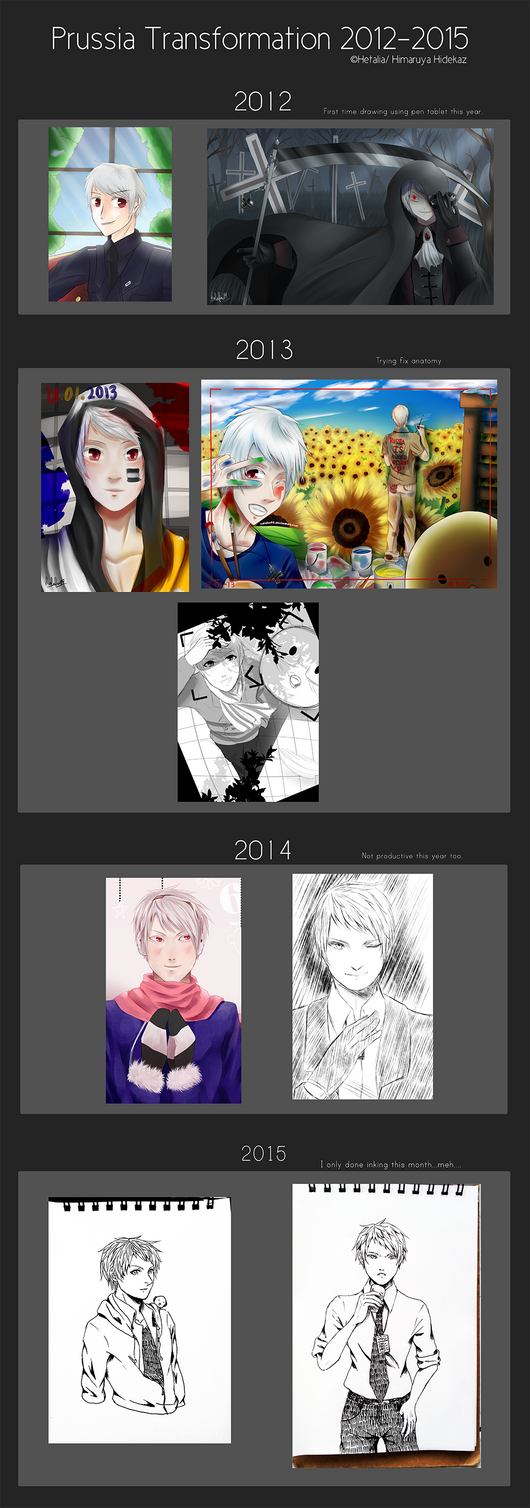 Prussia Transformation 2012-2015 by Kalafin99
