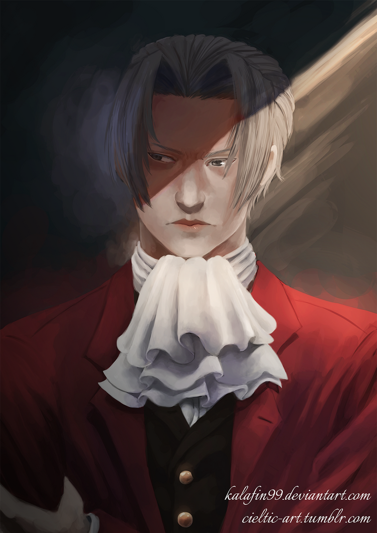 Ace Attorney - Miles Edgeworth by Kalafin99