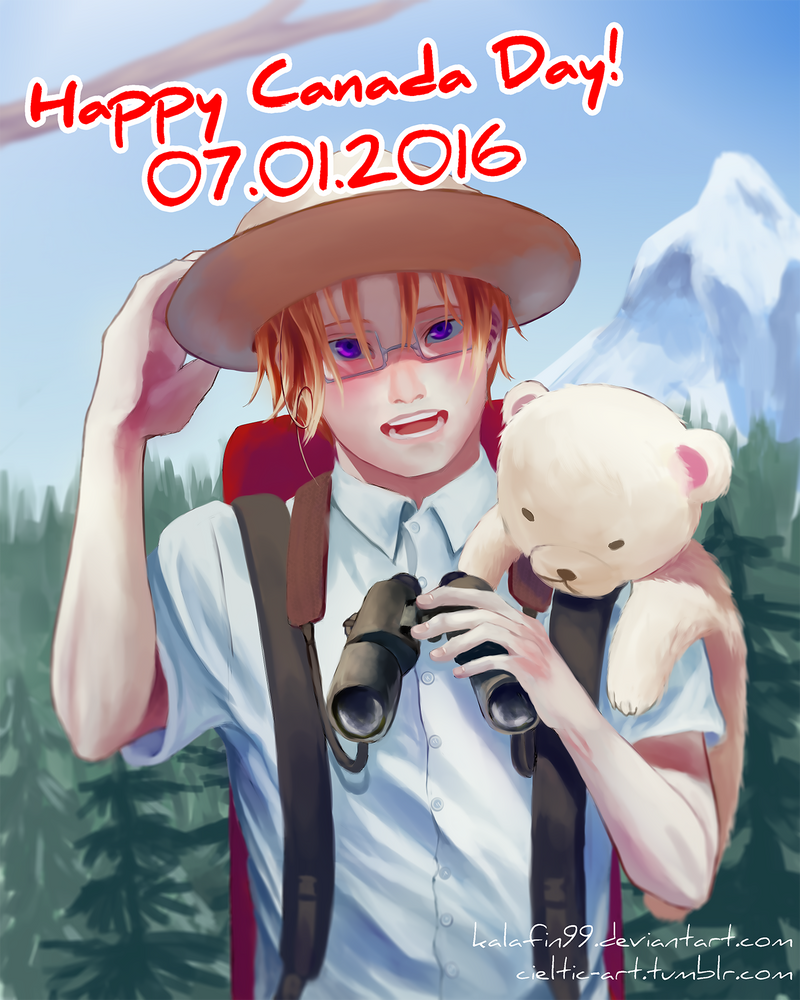 Happy Belated Canada Day by Kalafin99