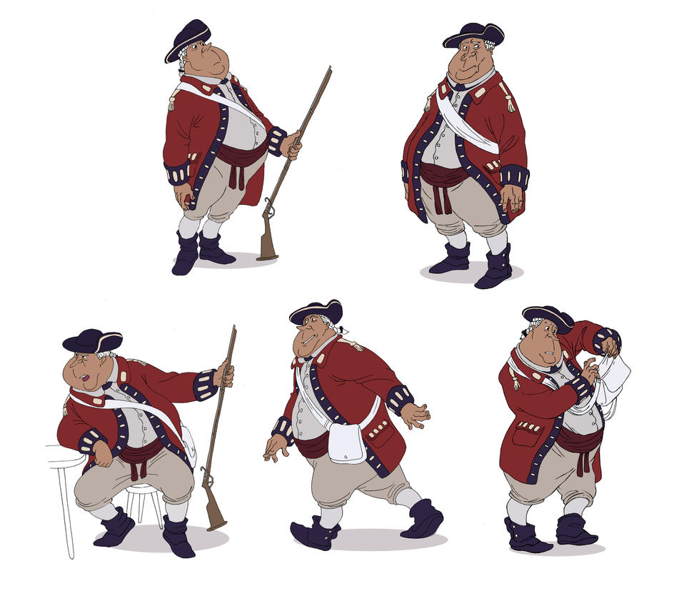 Similiar Cartoon Redcoats Keywords