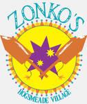 Zonko's Joke Shop Logo- white