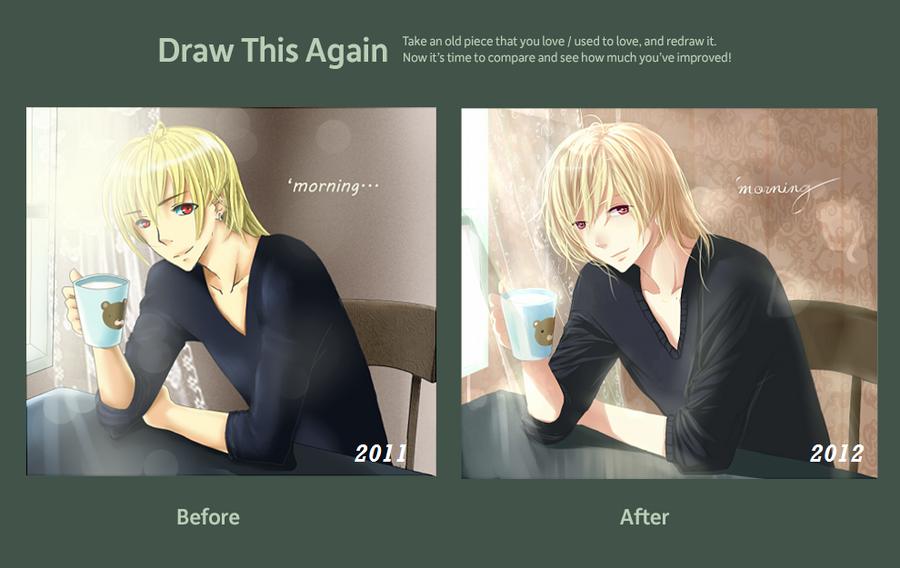 Draw This Again Contest: Teddy by Piku-chan21