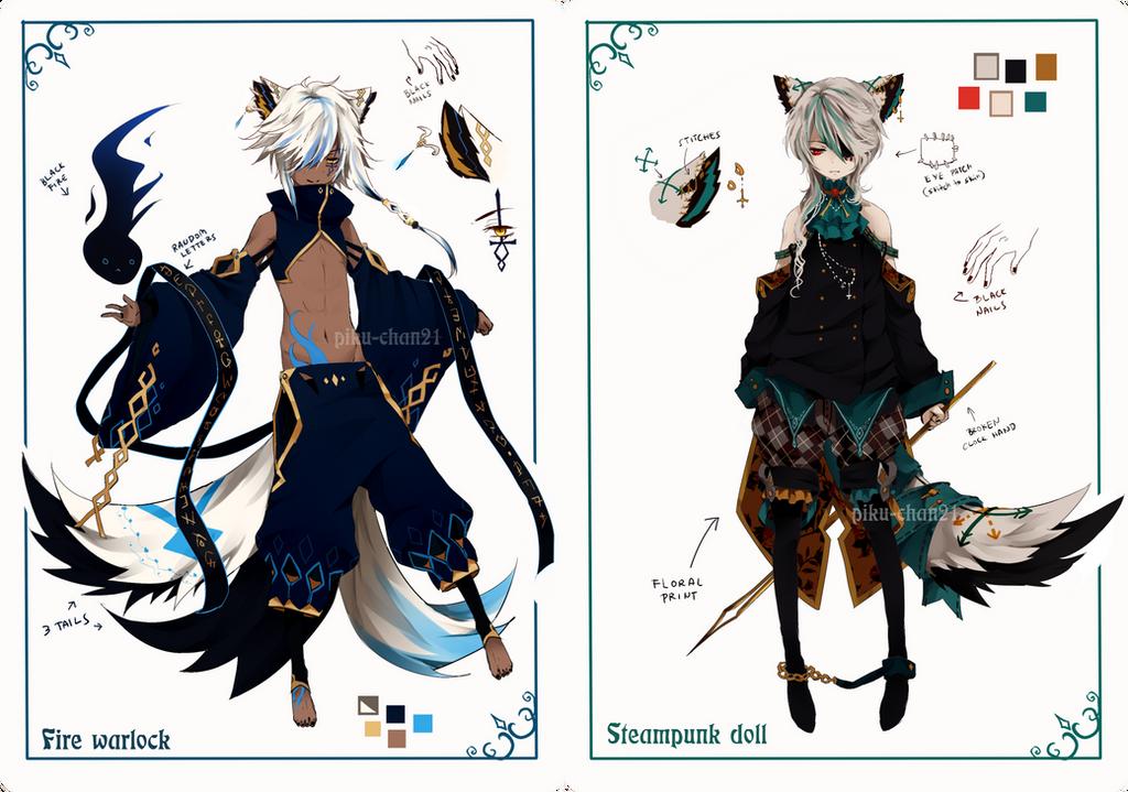 Anime Pixel Cat Ox