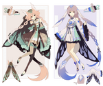 [ CLOSED ] Genie Adoptable 2 and 3 by Piku-chan21